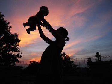 aurelie et l'enfant