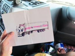 dessin camion