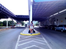 Sandra frontière Ohrid
