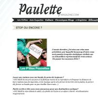 Les P'tites Poucettes Aurélie Streiff Sandra Reinflet Paulette