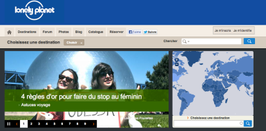 Lonely Planet Stop au féminin
