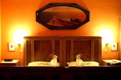 lapins chambre