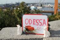 Lapins pancarte odessa