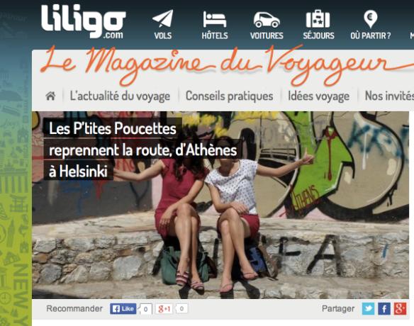 Liligo - Le magazine du Voyageur