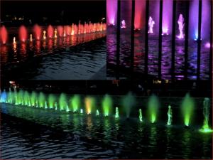 fontaine-lumineuse-bardejov-slovaquie