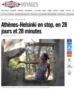 Libé voyages, Libération- Les Ptites Poucettes